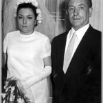 Con el abuelo Eustaquio antes de casarse
