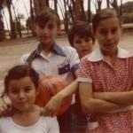 En la casa de campo Monica, Gemma, Kiko y Rosa