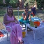 Mª Elena y Mª Isabel Taracido