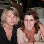 Esperanza con su sobrina Gemma