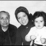 Con su segunda hija Gemma Taracido