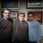 Tres generaciones de Francisco Taracido
